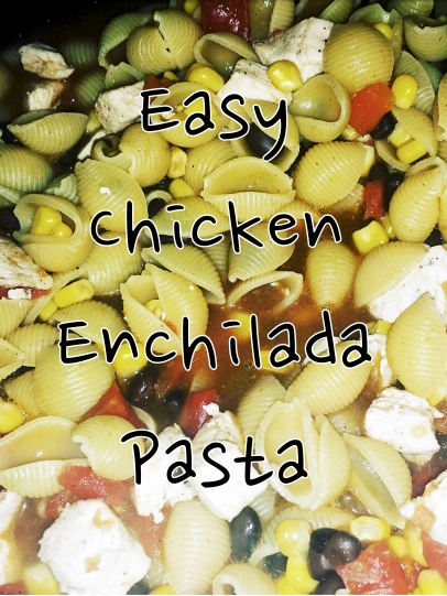 easy-chicken-enchilada-pasta